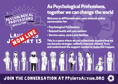 Psychological Professions Into Action Poster