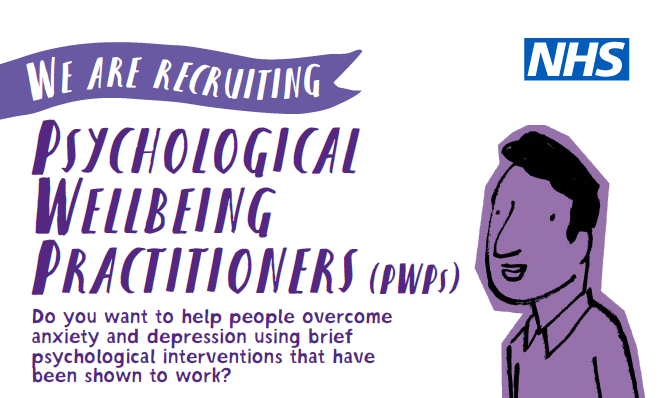 Recruiting Psychological Wellbeing Practitioners